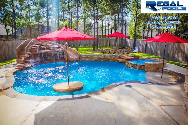 Waterfalls Regal Pools The Woodlands Tx