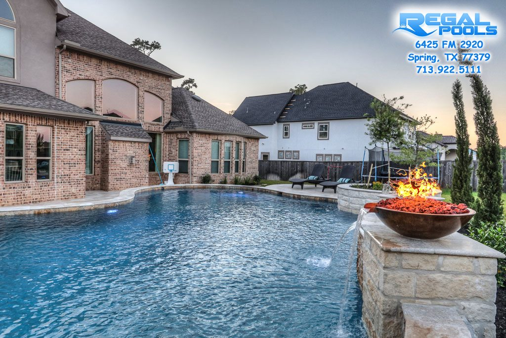 Water Features Regal Pools The Woodlands Tx