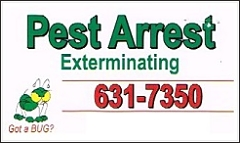 Pest Arrest Exterminating Inc