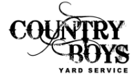 Website for Country Boys Yard Service