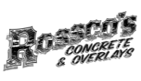 Website for Rossco's Concrete & Overlays Ltd