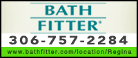 Website for Bath Fitter (Regina)