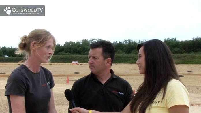 Interview With Andy Gwynne And Holly Robinson At Glos
