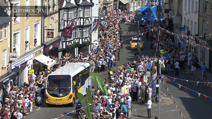 Olympic Torch In The Cotswolds Cotswold Tv Video From The