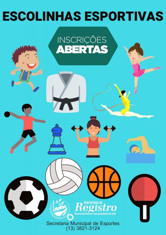 2340cbee13 Prefeitura de Registro abre vagas para Escolinhas Esportivas