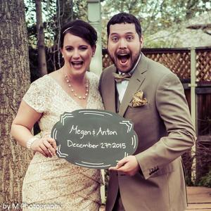 Megan & Anton Wedding Registry