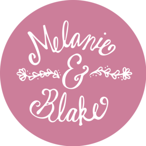 Melanie & Blake Wedding Registry