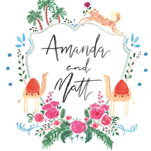 Amanda & Matt Wedding Registry
