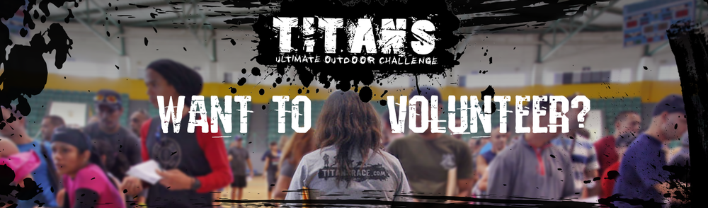 TITANS RACE - 5K CHALLENGE - VOLUNTEERS