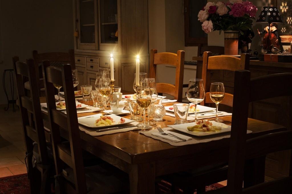dinner table- KE Butterfield