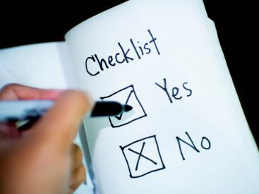 Checklist information
