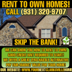 Rent to Own Homes Clarksville TN