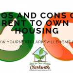 Pros and Cons of Rent to Own Housing In Clarksville TN