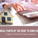 The Financial Parts Of The Rent To Own Agreement