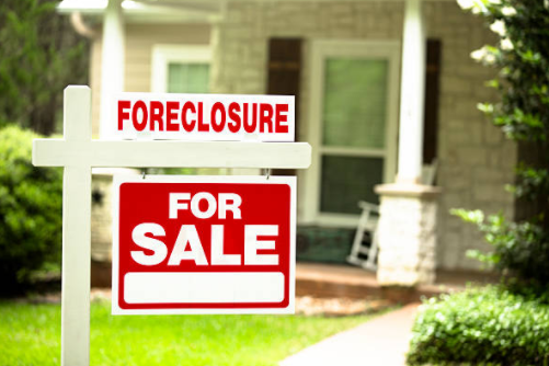 selling property in foreclosure