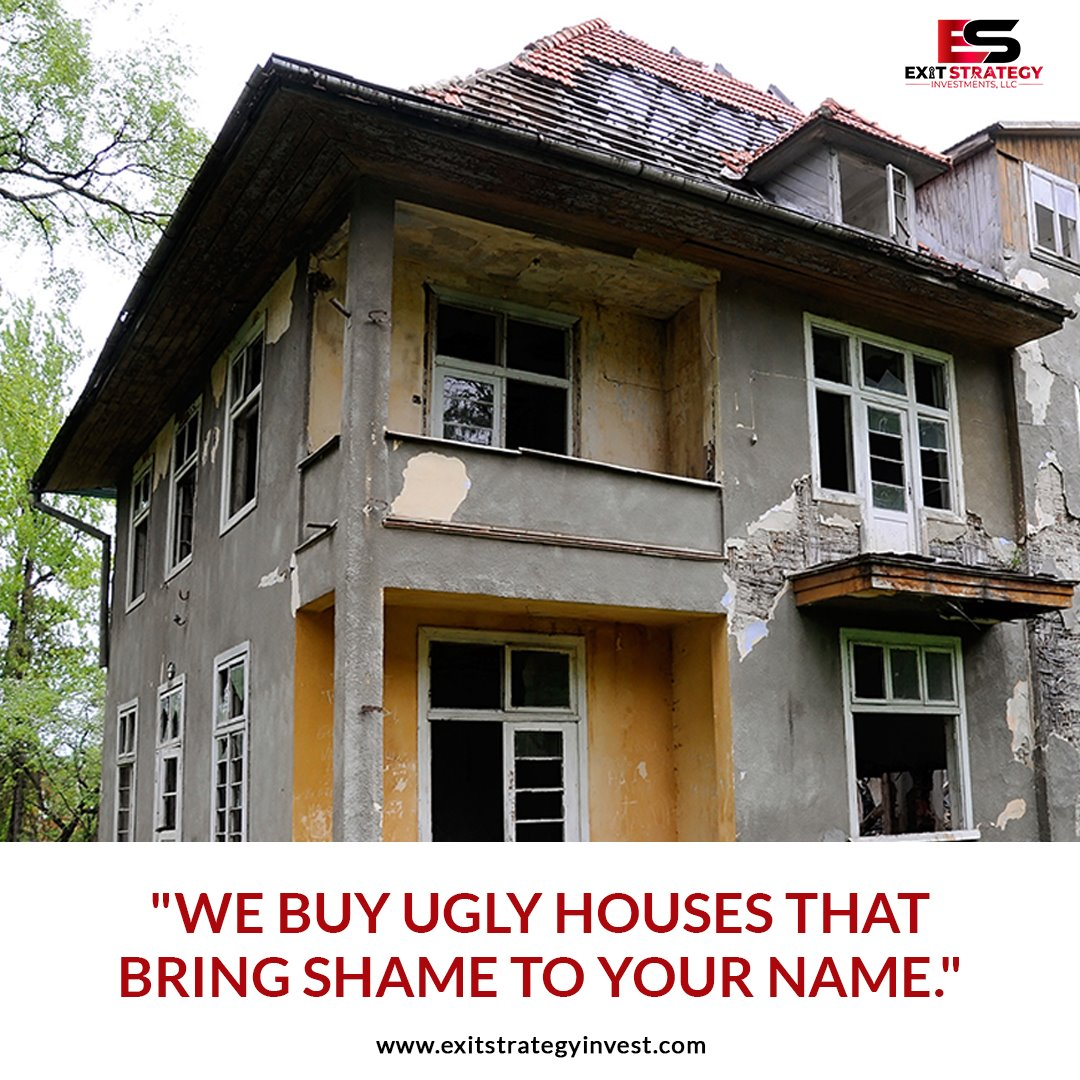 We Buy Ugly Houses - Exit Strategy Investments