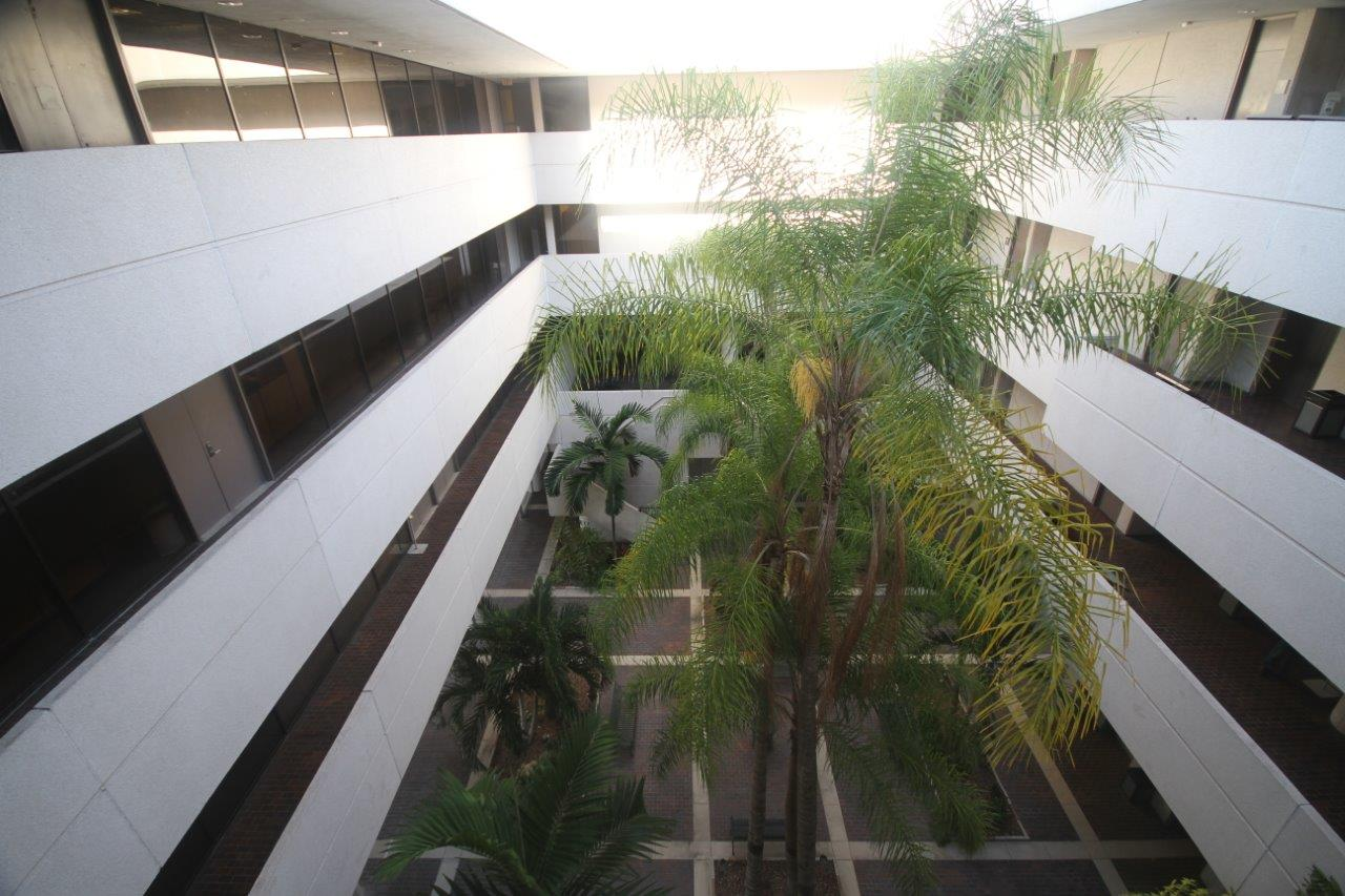 Interior Courtyard from 4th Floor