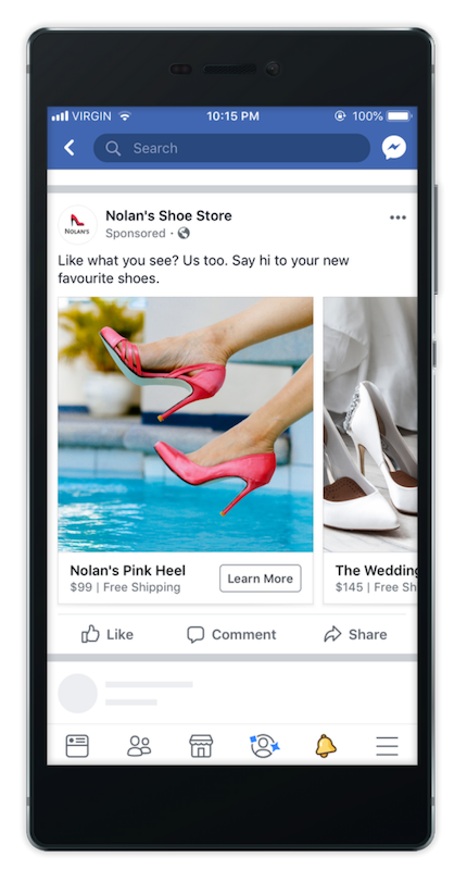Create Facebook Ads with Rikibo