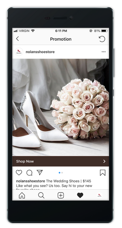 Create Instagram Ads with Rikibo