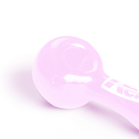 "Pink 4"" Spoon Pipe"