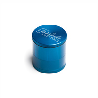 "Blue 4-Stage Toothless Grinder 2.5"" Diameter"