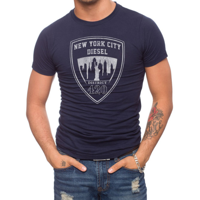 NYC District 420 100% Cotton T-Shirt