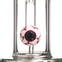 "White 14"" Red Eye Bong"