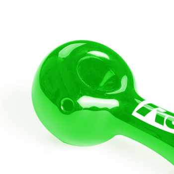 "Green 4"" Spoon Pipe"