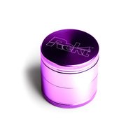 "Purple Four Piece Shredding Type Grinder With a 2.1"" Diameter"