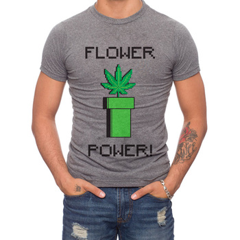 Flower Power 50% Cotton/50% Polyester T-Shirt