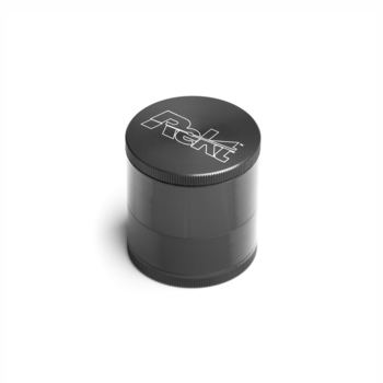 "Gray 4-Stage Toothless Grinder 1.5"" Diameter"