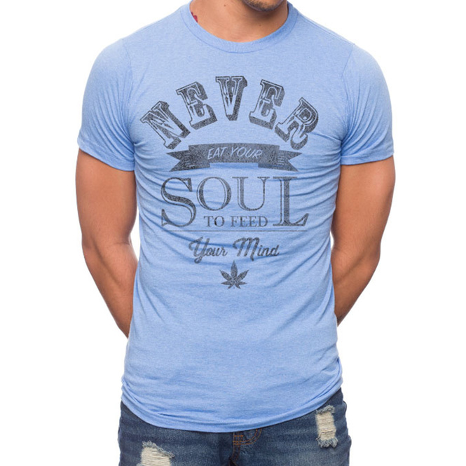 Never Eat Your Soul 50% Cotton/50% Polyester T-Shirt