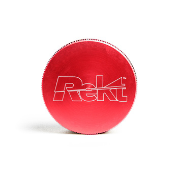"Red 2-Stage Toothless Grinder 2.5"" Diameter"