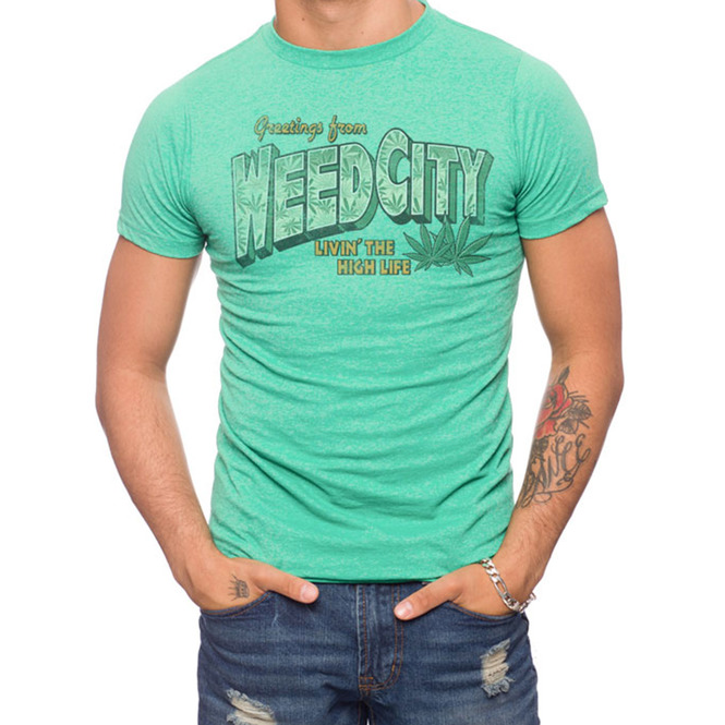 Weed City T-Shirt 50% Coton/50% Polyester