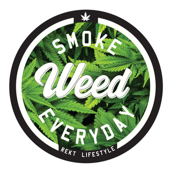 Smoke Weed Everyday 100% Cotton T-Shirt
