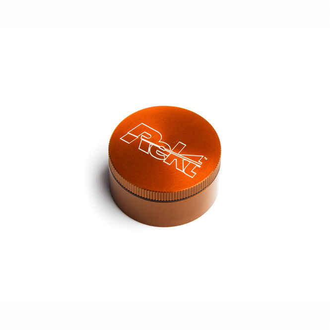 "Orange 2-Stage Toothless Grinder 1.5"" Diameter"