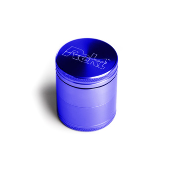 "Blue Four Piece Shredding Type Grinder With a 1.5"" Diameter"