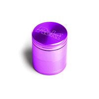 "Purple Four Piece Shredding Type Grinder With a 1.5"" Diameter"
