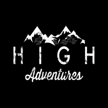High Adventures T-Shirt 100% Coton