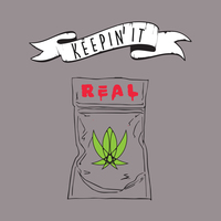 Keepin' It Real 50% Cotton/50% Polyester T-Shirt