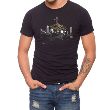 Bud Mountain 50% Cotton/50% Polyester T-Shirt
