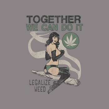 Together We Can 50% Cotton/50% Polyester T-Shirt