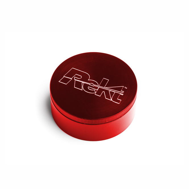 "Red 2-Stage Toothless Grinder 2.2"" Diameter"