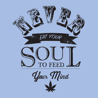 Never Eat Your Soul T-Shirt 50% Coton/50% Polyester