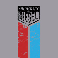 NYC Diesel Racing T-Shirt 50% Coton/50% Polyester