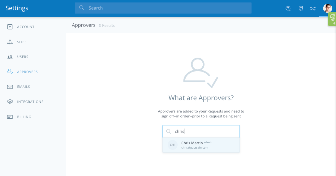 PactSafe New Feature Spotlight: Approvals