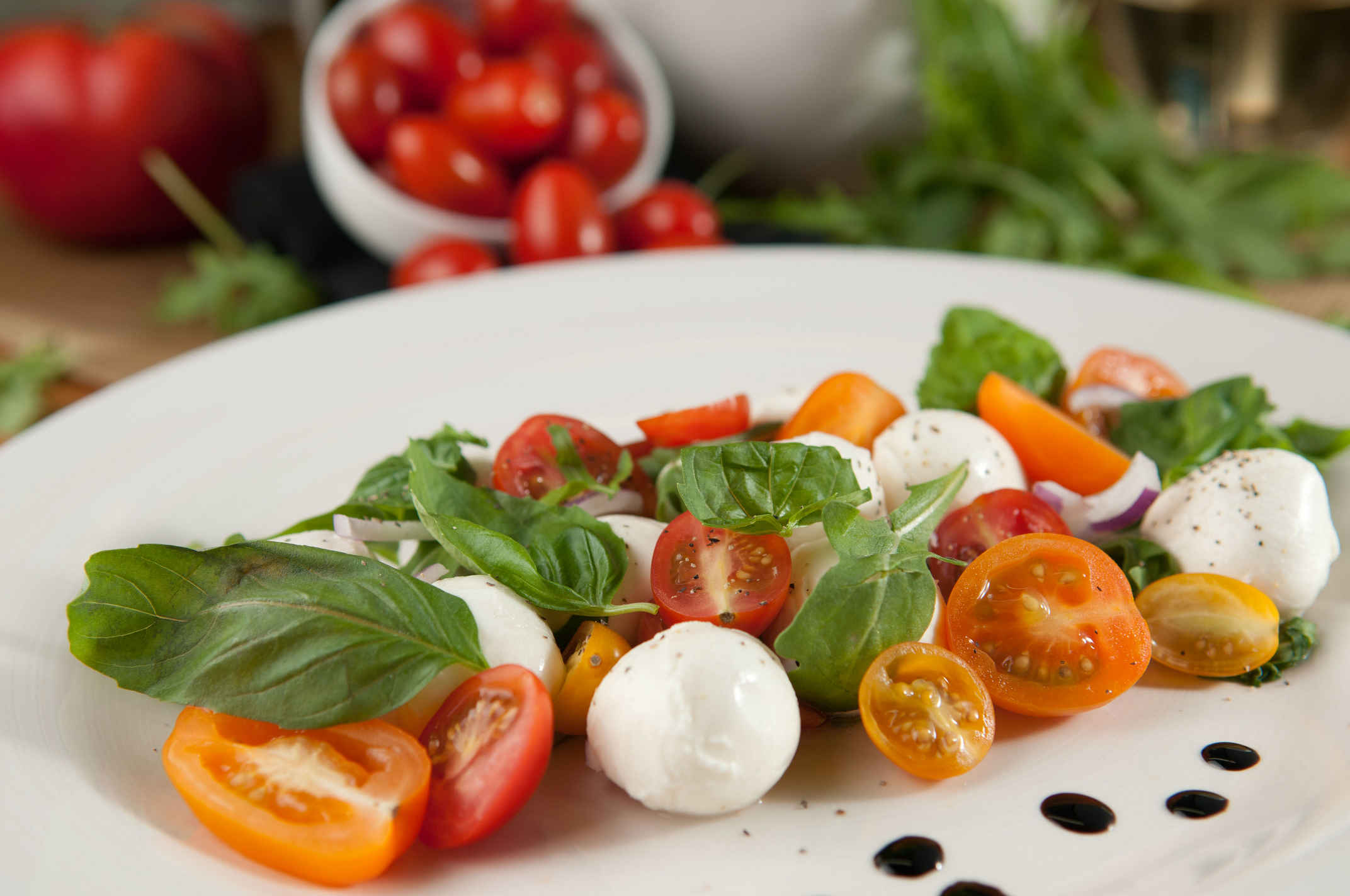 Mozzarella_salad_plated