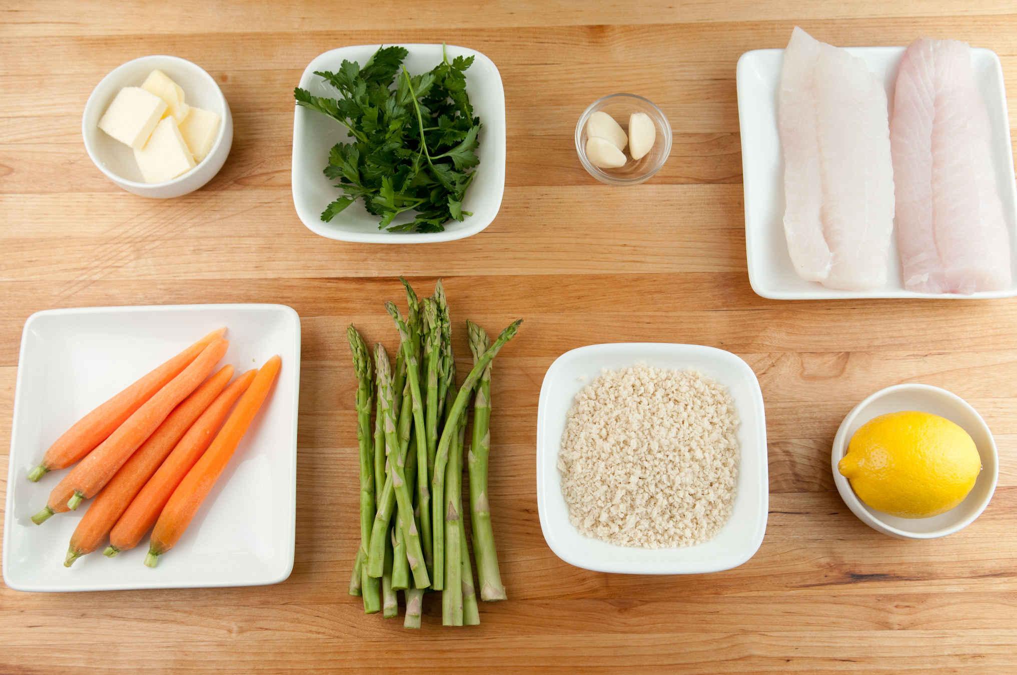 Panko cod ingredients