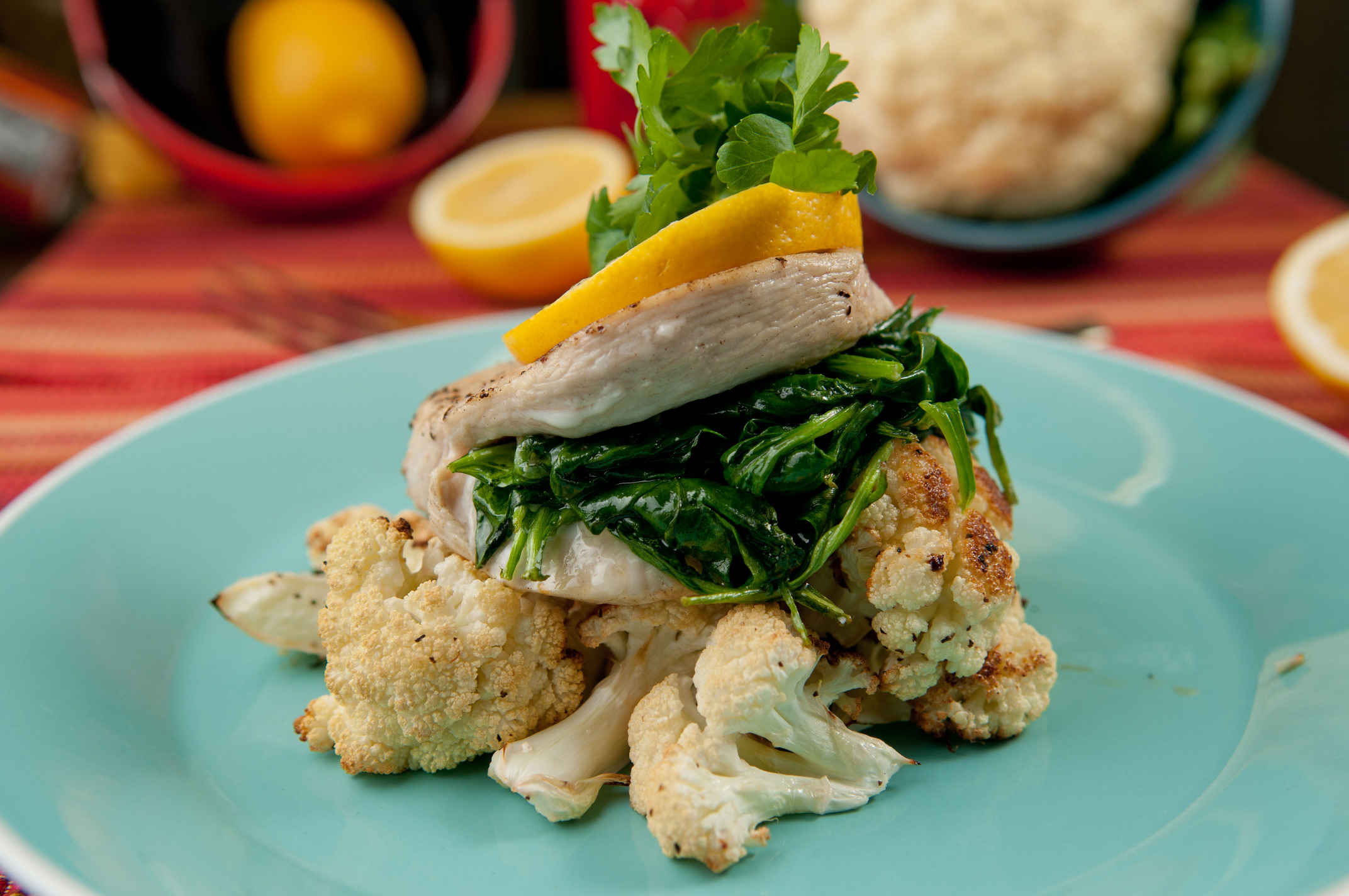 Spinach_stuffed_chicken_plated