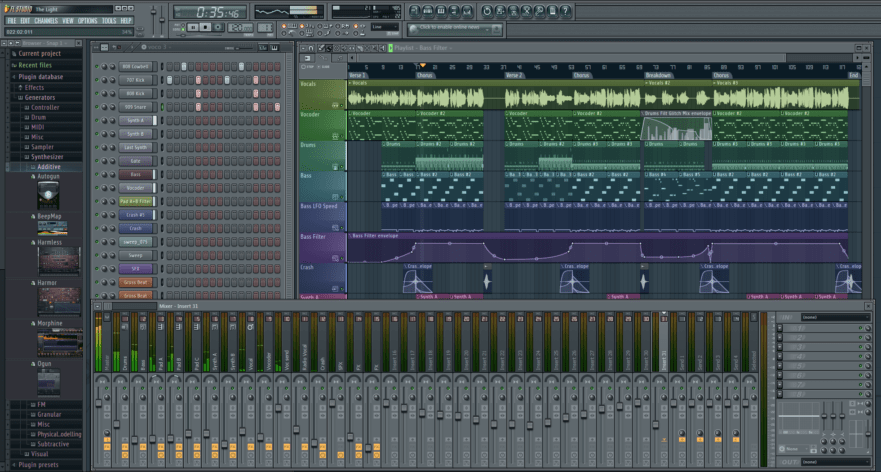 Deep house flp project